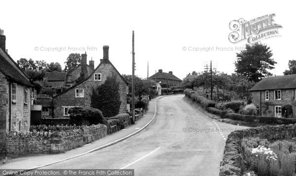 Bourton, Main Road c.1955