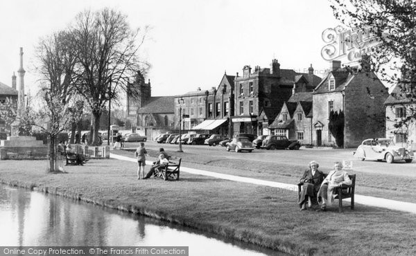 Bourton On The Water, By The Windrush 1956