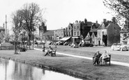 Bourton-on-The-Water, By The Windrush 1956