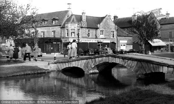 Bourton On The Water, The Bridge c.1955