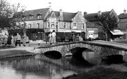 Bourton-on-The-Water, The Bridge c.1955