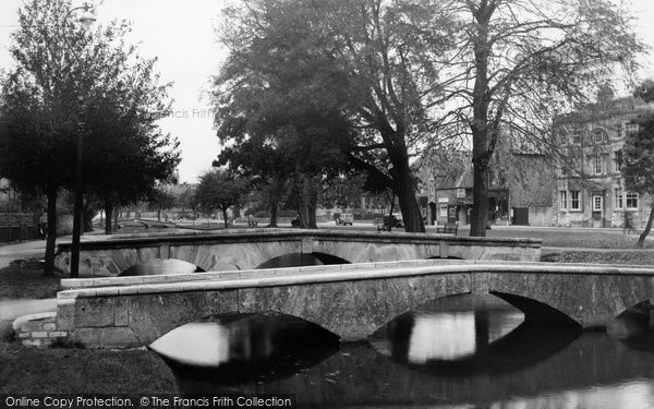 Bourton On The Water, The Bridges c.1955