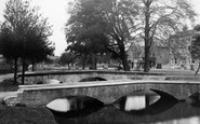 Bourton-On-The-Water, The Bridges c.1955