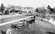 Bourton-on-The-Water, View From The Memorial c.1965