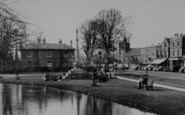 Bourton-on-The-Water, War Memorial And Village c.1955