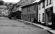Bovey Tracey, A J Carpenter's, Fore Street c.1955
