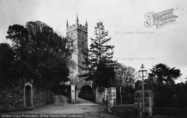 Bovey Tracey, Church 1907