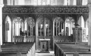 Bovey Tracey, Church Screen 1907