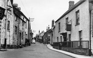 Bovey Tracey, East Street c.1955