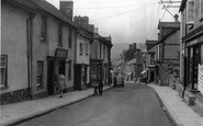 Bovey Tracey, Fore Street c.1950