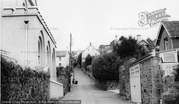 Bovey Tracey, Hind Street c.1965