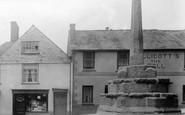 Bovey Tracey, Market Cross 1907