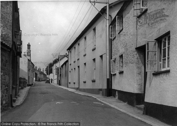 Bovey Tracey, Mary Street c.1950