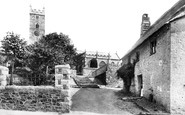 Bovey Tracey, Parish Church 1907