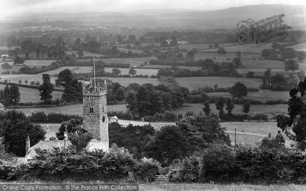 Bovey Tracey, Parish Church 1925