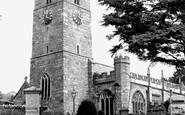 Bovey Tracey, Parish Church c.1955