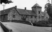 Bovey Tracey, The Bridge And Old Mill c.1950