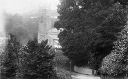 Bovey Tracey, The Church 1907