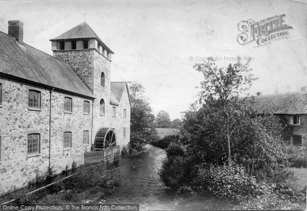 Bovey Tracey, The Mill 1907