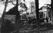 Bovey Tracey, The Parish Church c.1960
