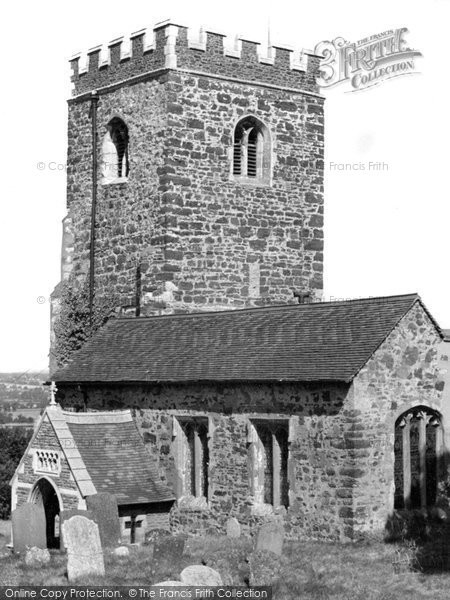 Bow Brickhill, All Saints Parish Church c.1960