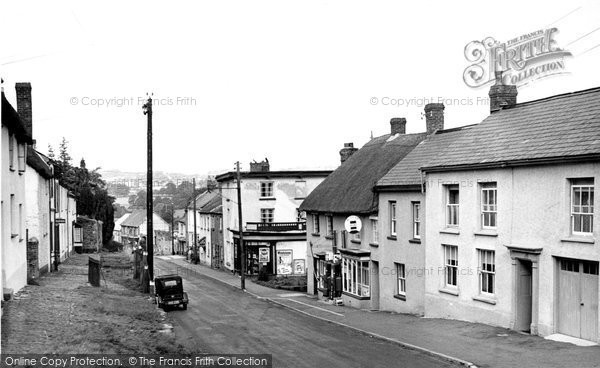 Bow, Main Road c.1955