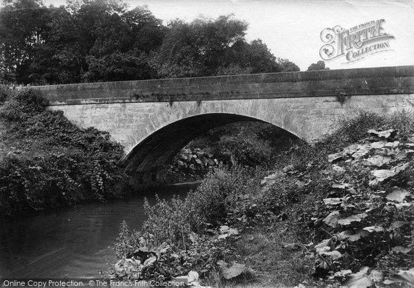 Bowdon, Castle Mill Bridge 1907