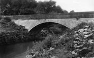 Bowdon, Castle Mill Bridge 1907