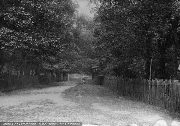 Bowdon, Dunham Park 1892