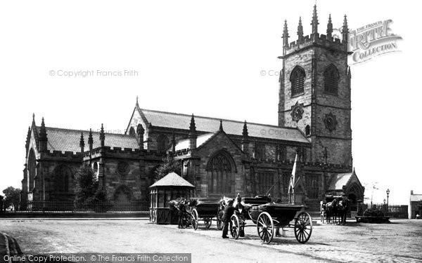 Bowdon, Parish Church 1889