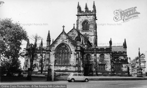 Bowdon, Parish Church c.1960