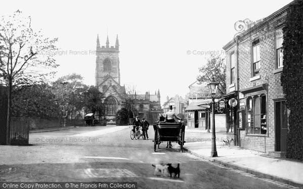 Bowdon, The Village And The Church 1913