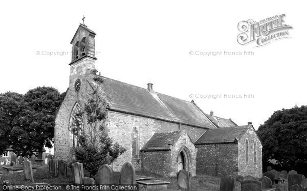 Bowes, Church Of St Giles c.1970