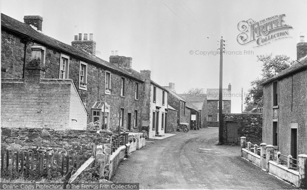 Bowness On Solway, Church Road c.1955