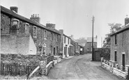Bowness-on-Solway, Church Road c.1955