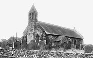 Bowness-On-Solway, St Michael's Church c.1955