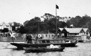 Bowness-On-Windermere, A Pleasure Boat By The Pier 1887