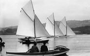 Bowness-On-Windermere, Boating 1896