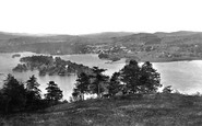 Bowness-On-Windermere, From Furness Fell 1887