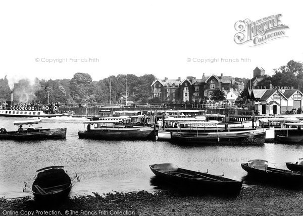 Bowness On Windermere, Old England Hotel 1925