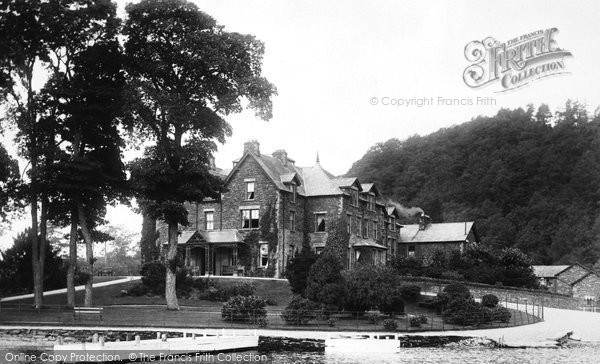 Bowness On Windermere, The Ferry Hotel 1896