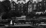 Bowness-On-Windermere, The Jetty 1912