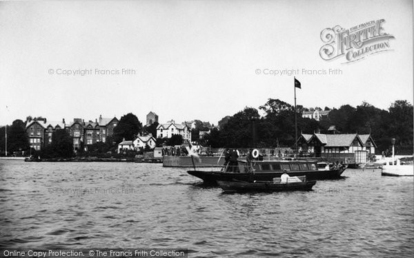 Bowness On Windermere, The Pier 1887