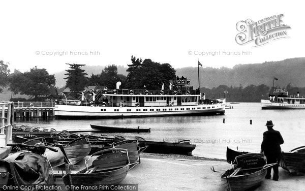 Bowness On Windermere, The Pier c.1955