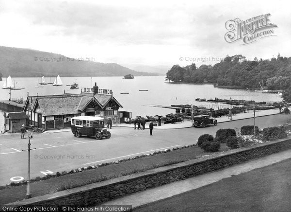 Bowness On Windermere, The Promenade 1929