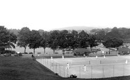 Bowness-On-Windermere, The Tennis Courts 1925
