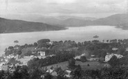 Bowness-On-Windermere, View From The Summit c.1880