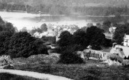 Bowness-On-Windermere, View Towards Belle Island 1893