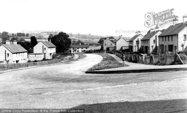 Photo of Box, Bargates Council Houses c1955