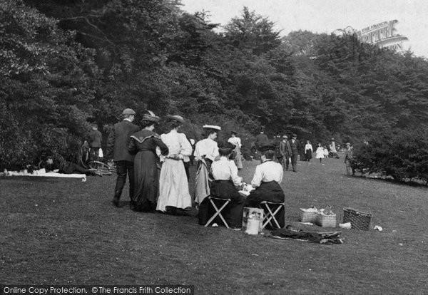 Box Hill, A Bank Holiday Picnic 1906